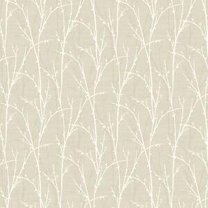 Seabrook Designs Deer Park Greige & Off-White Wallpaper  - natural