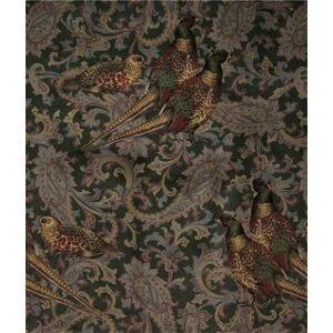 Ralph Lauren Hunting Manor Paisley Loden Fabric  - green