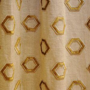 JF Fabrics Peru 16 Fabric  - yellow