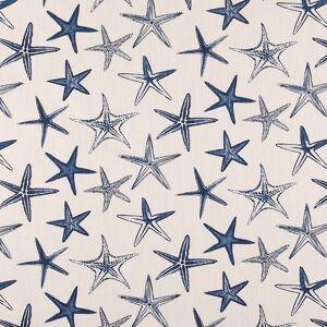 Scott Living Starfish Vista Luxe Linen Fabric  - blue
