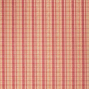 Fabricut Federal Poppy Fabric  - red