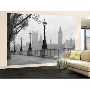Art.com Wallpaper Mural: London Fog Wall Mural : 100x144in