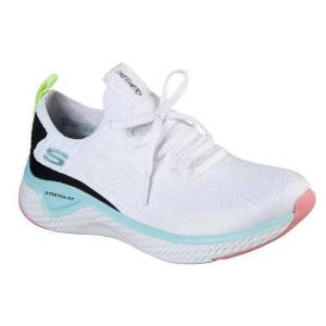 Skechers Women's Solar Fuse Athletic Shoes  - White - Size: 6