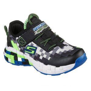 Skechers Boy's Mega-Craft Sneakers  - Black - Size: 12