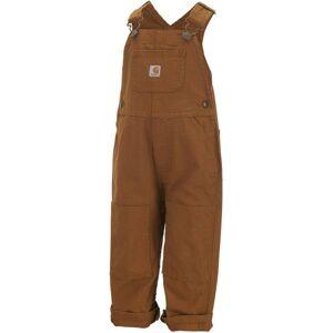 Carhartt Toddler Boys' Duck Bib Overalls  - Brown - Size: 3M