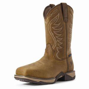 ARIAT Women's Anthem Waterproof Western Work Boots  - Brown - Size: 9.5