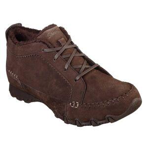 Skechers Women's Bikers Lineage Boots  - Brown - Size: 10
