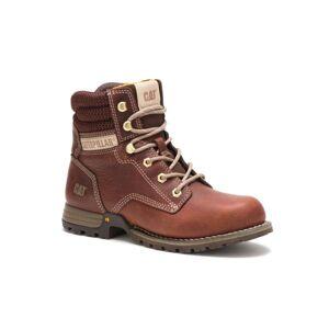 Cat Footwear Women's Paisley Soft Toe Boots  - Brown - Size: 7W