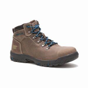 Cat Footwear Women's Mae Steel Toe Waterproof Boots  - Brown - Size: 10W