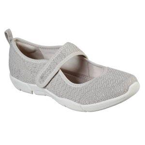 Skechers Women's Be-Lux Slow Drift Shoes  - Gray - Size: 7