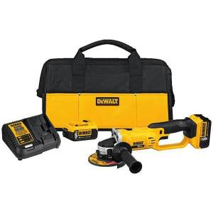 DEWALT DCG412P2 20V MAX Lithium-Ion CUT-OFF TOOL KIT (5.0 Ah)