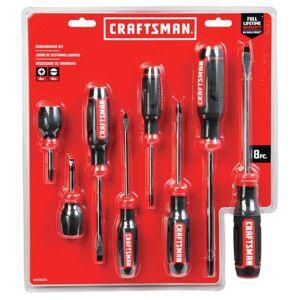 Craftsman 8 Piece Bi-Material Screwdriver Set