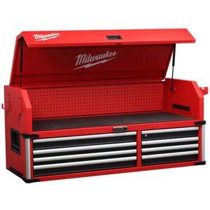 "Milwaukee 56"" High Capacity 8-Drawer Steel Storage Tool Chest"