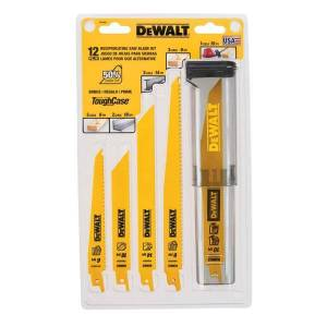 DEWALT 12 Piece Reciprocating Saw Blade Kit