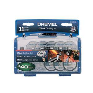 Dremel 11 Piece EZ Lock Mini Cutting Kit for Metal & Plastic