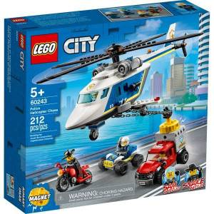 Lego City Police Helicopter Chase 60243 Building Kit
