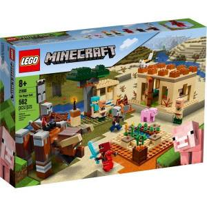 Lego Minecraft The Illager Raid 21160 Building Kit for Kids