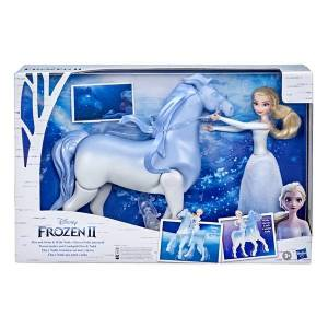 Frozen Elsa and Swim and Walk Nokk