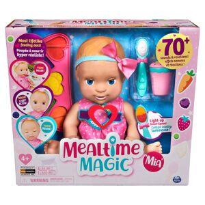 Luvabella Mealtime Magic Mia Interactive Feeding Baby Doll