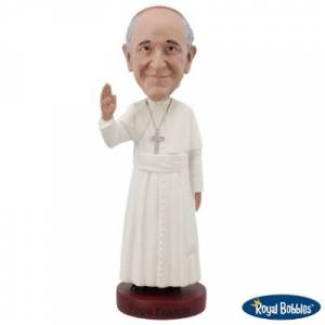 Forever Collectibles Royal Bobbles Bobbleheads Pope Francis