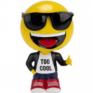Forever Collectibles emoji® Bobbleheads (Presale) Too Cool
