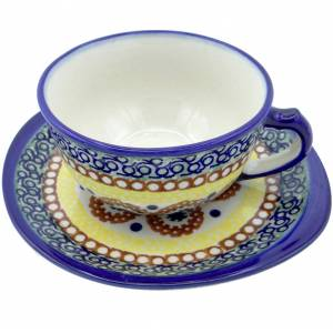 https://www.silverrushstyle.com/polish-pottery/dinning/cups-mugs-saucers/teacups/silverrushstyle-polish-pottery-teacup-saucer-su Silver Rush Style