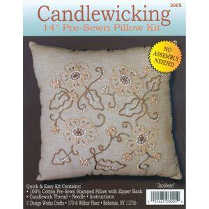 """14""""X14"""" - Jacobean Candlewicking Kit"""