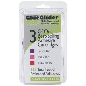 PermaTac, ExtremeTac & ValueTac - GlueGlider Pro Plus Refill Assortment 3/Pkg