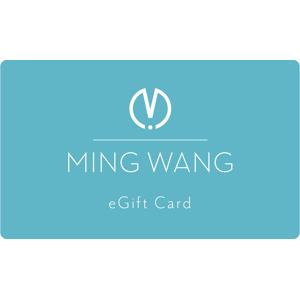 Ming Wang eGift Card - $50.00