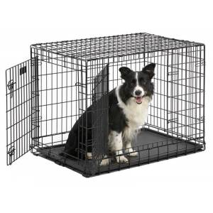 MIDWEST METAL PRODUCTS Ultima Pro Double Door Professional Dog Crate 49In