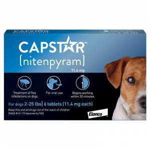 United Capstar for Dogs 2-25lbs 6 Month