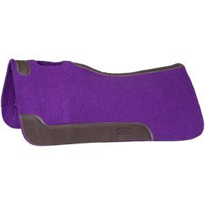 JT International Tough-1 Contour Felt Saddle Pad Purple