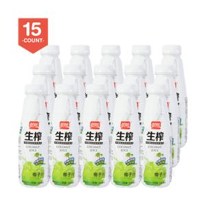 ASIA FOODS 【Value Set】PANPAN Coconut Juice 500ml Pack of 15