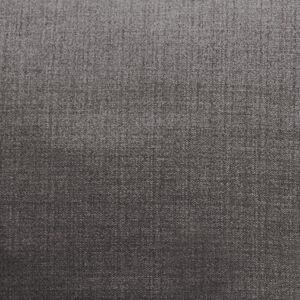 Oak Furniture Land Linea Flanagan Charcoal Fabric Ottoman - Oak Furnitureland