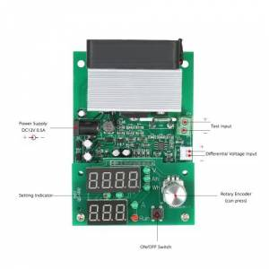 other Multi-functional Constant Current Electronic Load 9.99A 60W 30V Discharge Power Supply Battery Capacity Tester Module