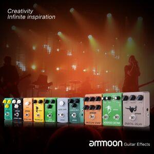 ammoon AP-05 Dynamic Compressor Guitar Effect Pedal True Bypass