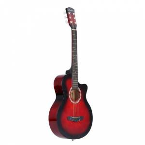 """other 38"""" Acoustic Folk 6-String Guitar for Beginners Students Gift"""