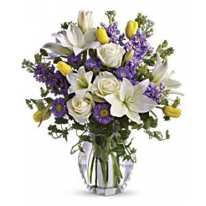 Teleflora Spring Waltz Bouquet   Mixed Bouquets   Same Day Flower Delivery   Yellow   Teleflora  - Yellow