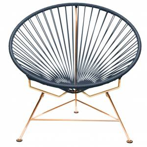 Innit Designs Innit Classic Chair - Copper Base - Grey