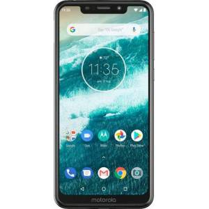 Motorola One with 64GB Memory Cell Phone (Unlocked) - White