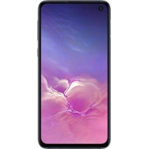 Samsung - Galaxy S10e with 256GB Memory Cell Phone (Unlocked) Prism Prism - Prism Black