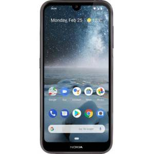 Nokia - 4.2 with 32GB Memory Cell Phone (Unlocked) - Black