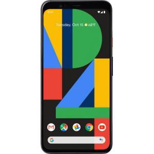 Google - Pixel 4 XL with 128GB Cell Phone (Unlocked) - Clearly White