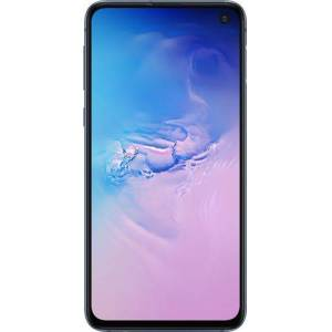 Samsung - Geek Squad Certified Refurbished Galaxy S10e with 128GB Memory Cell Phone (Unlocked) - Prism Blue