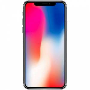 Apple - Preowned iPhone X with 256GB Memory Cell Phone (Unlocked) - Space Gray