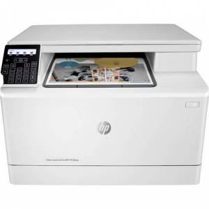 HP - Refurbished LaserJet Pro MFP M180nw Wireless Color All-In-One Laser Printer - White