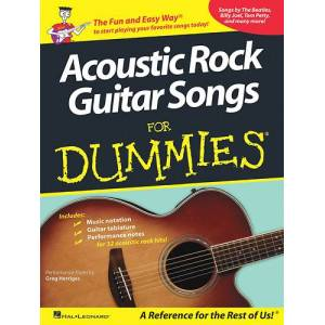 Hal Leonard - Various Artists: Acoustic Rock Guitar Songs for Dummies Sheet Music - Multi