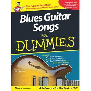 Hal Leonard - Various Artists: Blues Guitar Songs for Dummies Sheet Music - Multi