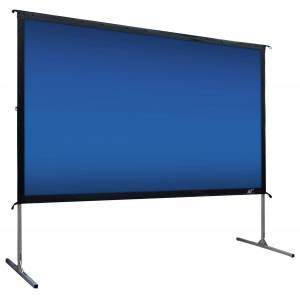 "Elite Screens - YardMaster2 135"" Outdoor Projector Screen - Silver"