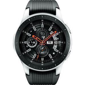 Samsung - Galaxy Watch Smartwatch 46mm Stainless Steel LTE - Silver (Verizon)